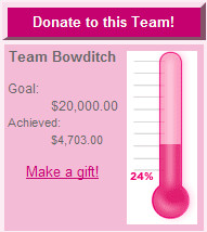 Team Bowditch / SGK Donation Thermometer